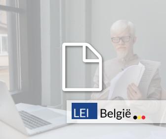LEI België - LEI invoering